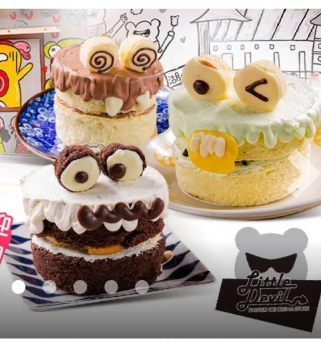 【菖樺】小怪獸蛋糕禮盒5入組