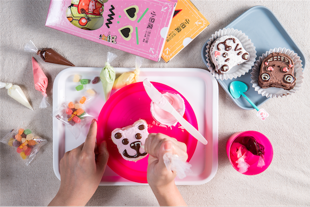 【菖樺】珮吉貝爾彩繪DIY蛋糕 - 套件組(5入/盒)