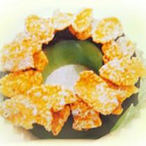 【菖樺】甜甜圈冰點 - 情人果玉米片