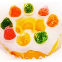 【菖樺】甜甜圈冰點 - 芒果QQ糖