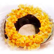 【菖樺】甜甜圈冰點 - 巧克力杏仁果