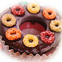 【菖樺】甜甜圈冰點 - 草莓香甜圈