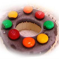 【菖樺】甜甜圈冰點 - 牛奶MM巧克力